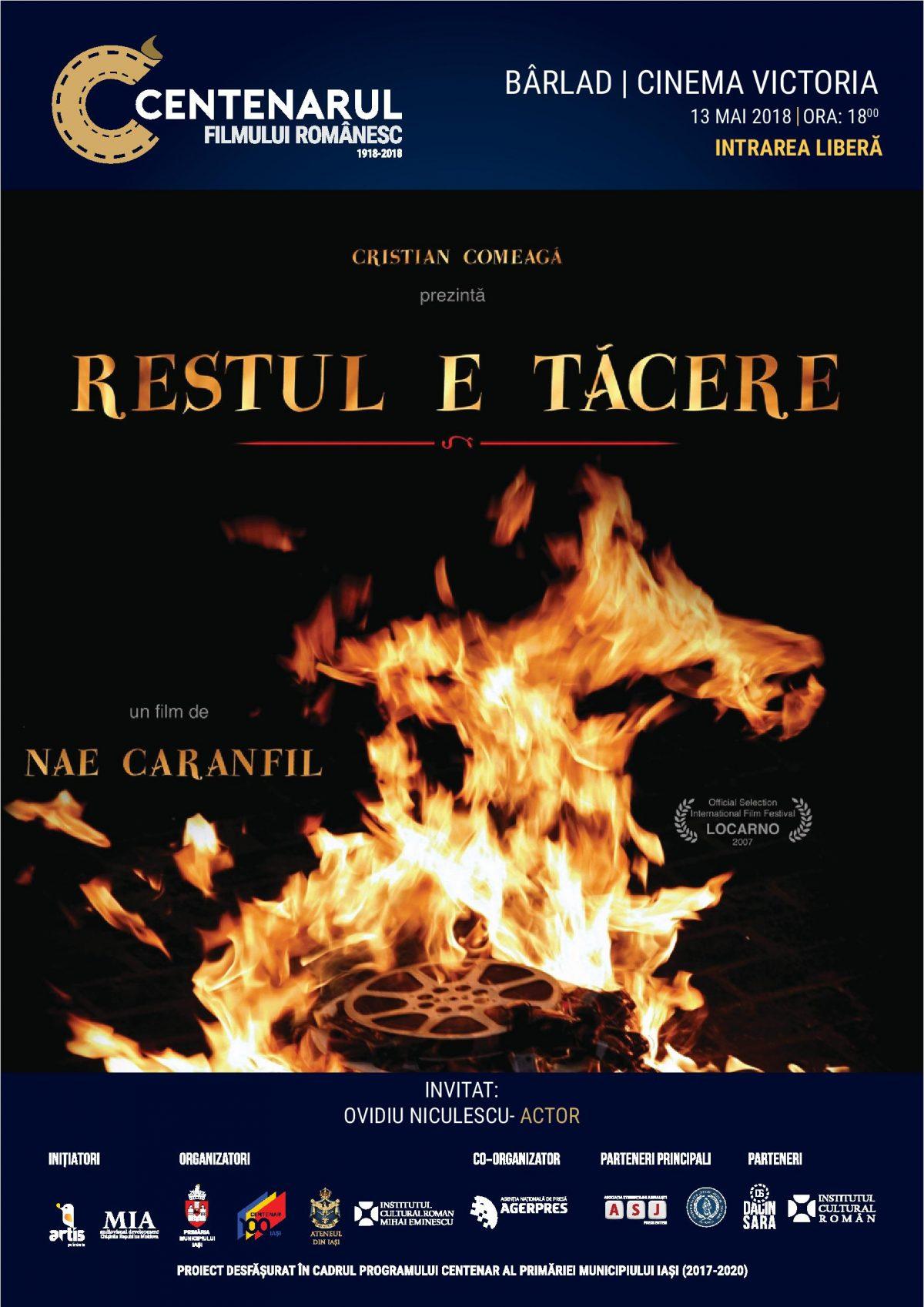 EPISODUL 9: BÂRLAD | CINEMA VICTORIA | RESTUL E TACERE (2007)