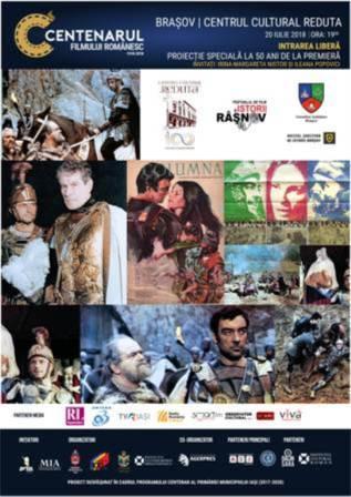 DOUĂ ANIVERSĂRI DE JUMĂTATE DE SECOL PENTRU FILMUL ROMÂNESC ÎN CADRUL CENTENARULUI FILMULUI ROMÂNESC