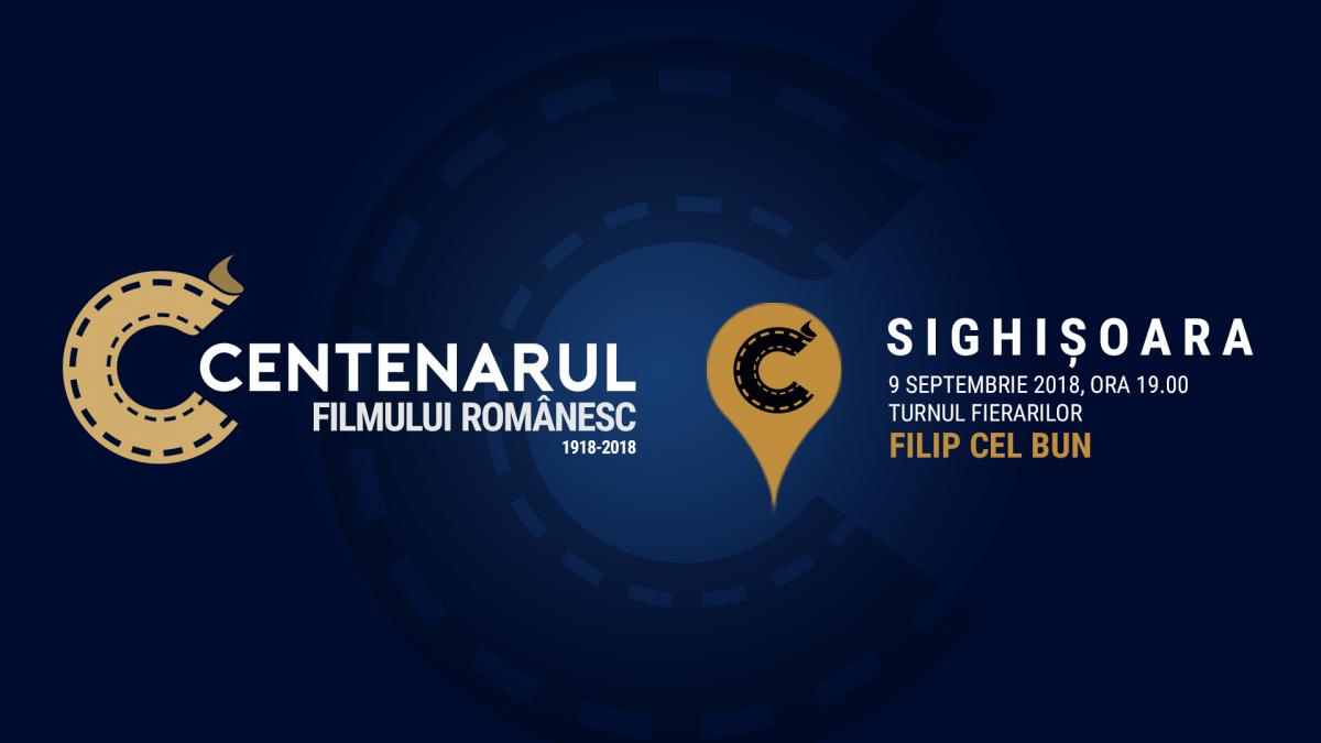 Sighișoara este pe harta #100filme, prin Centenarul Filmului Românesc
