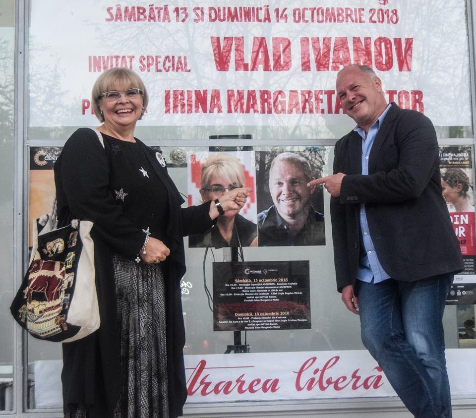 Caravana #100filme a ajuns în Botoșaniul filmic al lui Vlad Ivanov, cu două filme românești